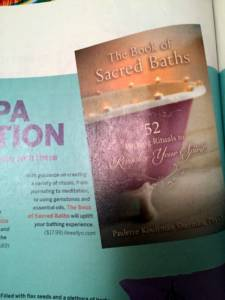 my book in Spirituality and Health mag